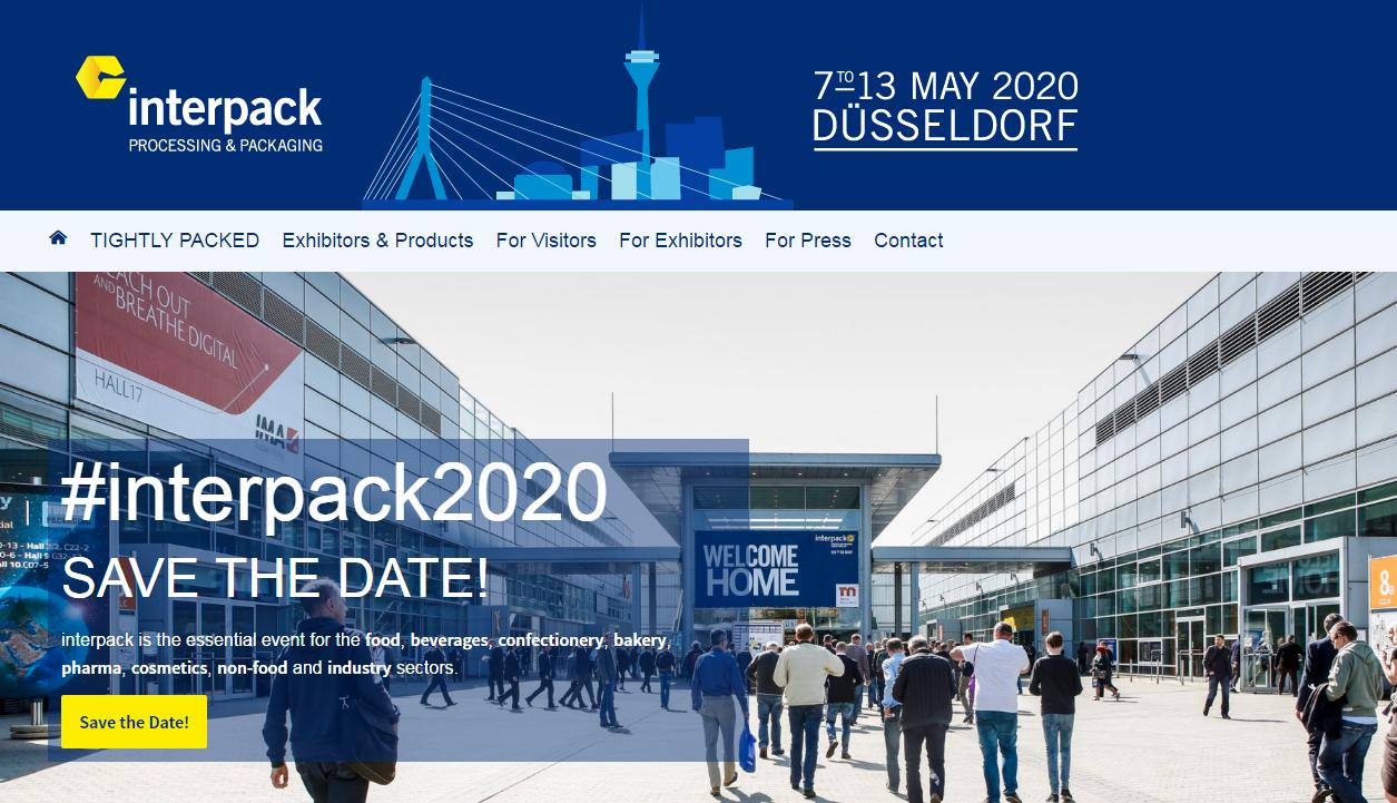 Выставка Interpack 2020 в Германии